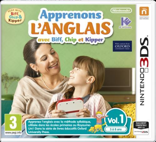 Apprenons l'anglais avec Kipper vol 1 - Nintendo 3DS