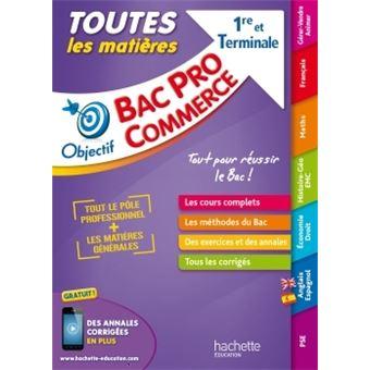 Objectif bac pro toutes les mati res 1 re et term bac for Les echanges exterieur cours bac