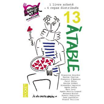 13 table les restos du coeur edition 2017 poche