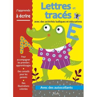 Activités ludiques et éducatives : Lettre et trace