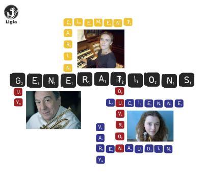 Nouveau CD de Guy Touvron et Lucienne Renaudin-Vary : GENERATIONS