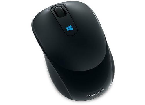 Souris sans fil Microsoft Sculpt mobile mouse Noir.