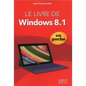 Le livre de Windows 8.1 poche Jean François Séhan Livre
