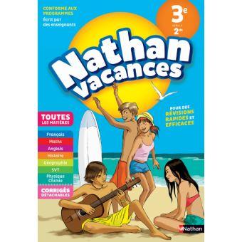 cahier de vacances 2nd