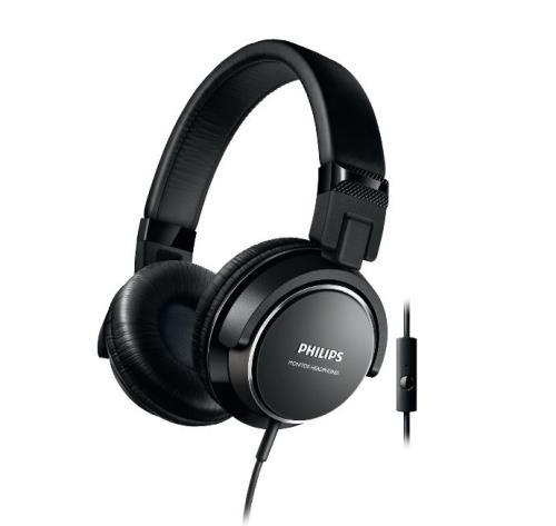 Casque audio Philips SHL3265DG filaire Noir