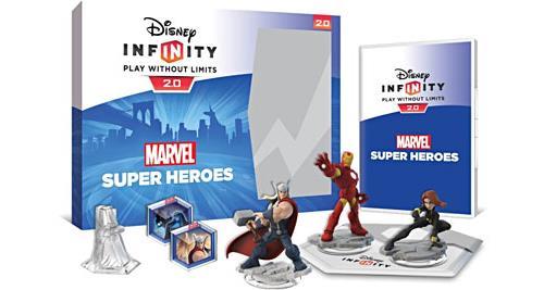 Disney Infinity 2.0 Marvel Super Heroes Pack de démarrage Wii U - Nintendo Wii U