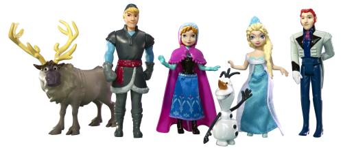 pack personnages frozen la reine des neiges princesses disney zoom