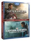 Captain America : The First Avenger + Le soldat de l'hiver (Blu-Ray)