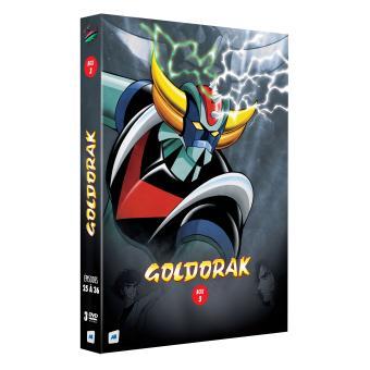 coffret dvd goldorak box 3