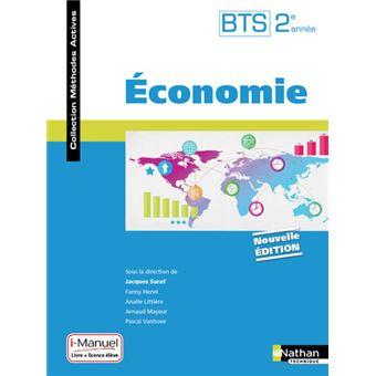 Economie BTS 2ème année (Méthodes actives) Livre + Licence élève - 2017