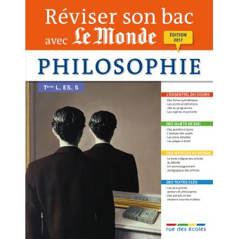 Réviser son Bac avec le Monde : Philosophie Term L, ES, S