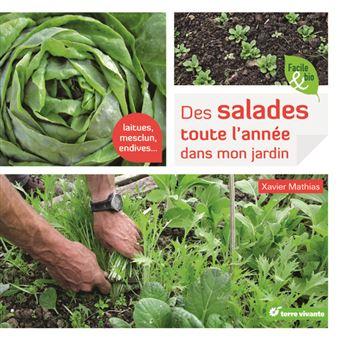 Des salades toute l 39 ann e dans mon jardin broch for Jardin xavier