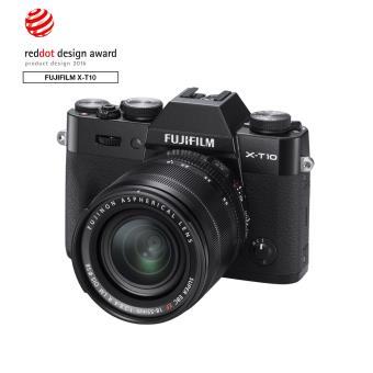 hybride fujifilm x t10 noir objectif xf 18 55 mm appareil photo hybride achat prix fnac. Black Bedroom Furniture Sets. Home Design Ideas
