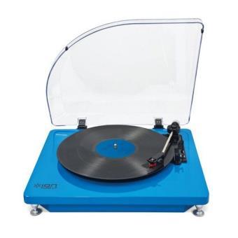 platine vinyle ion pure lp bleu platine d 39 coute. Black Bedroom Furniture Sets. Home Design Ideas
