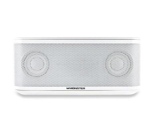 Enceinte Monster Micro Clarity Bluetooth Blanc