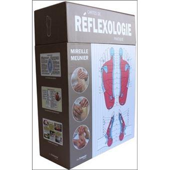 les cartes de r flexologie pratique coffret mireille meunier achat livre prix. Black Bedroom Furniture Sets. Home Design Ideas