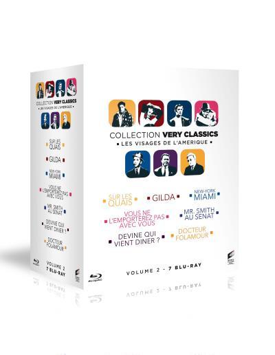 Coffret Visages de lAmérique Very classics Blu-ray