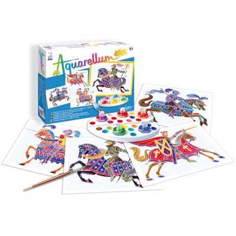 jeux créatifs sentosphère aquarellum juniors chevaliers sentosphère