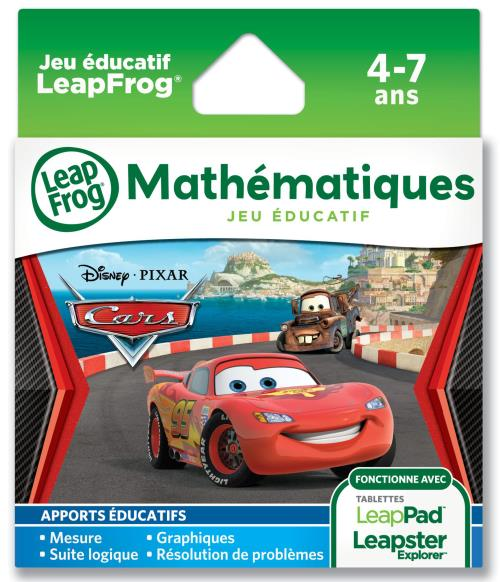 jeu leapfrog cars 2 pour leappad leapster explorer jeu d couverte achat prix fnac. Black Bedroom Furniture Sets. Home Design Ideas