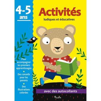 Activités ludiques et éducatives : Activités 4-5 ans