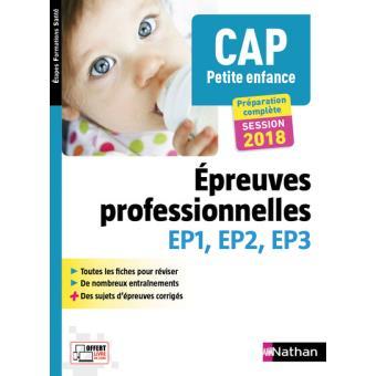 cap petite enfance epreuves professionnelles ep1 ep2 ep3