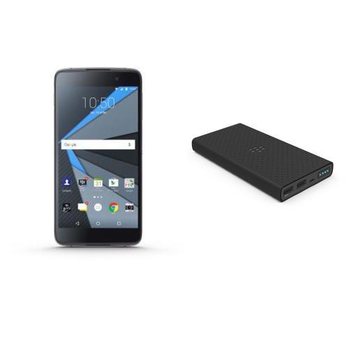 Smartphone DTEK50 by BlackBerry® + Batterie externe PowerBank 3000 mAh