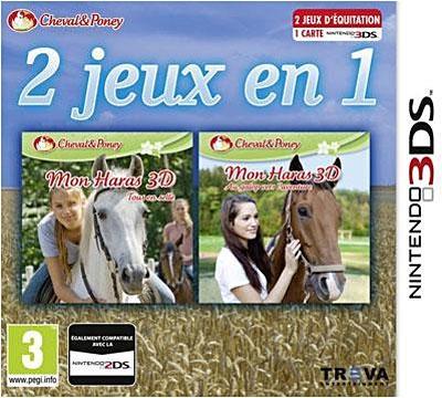 2 Jeux en 1 Haras en Selle + Au Galop 3DS - Nintendo 3DS