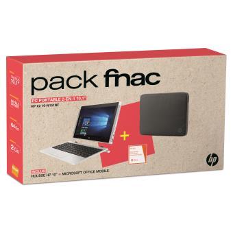 pc ultra portable hp pavilion x2 10 n151nf 10 1 tactile housse de protection ordinateur. Black Bedroom Furniture Sets. Home Design Ideas
