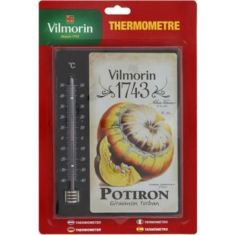 Thermom tre vilmorin 1743 grand mod le 20 x 15 cm - Grand thermometre de jardin ...