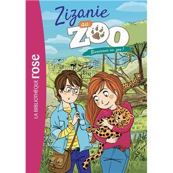 Zizanie au zoo - Tome 01 : Bienvenue au zoo !