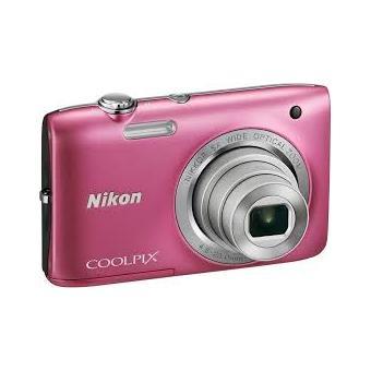 compact nikon coolpix s2800 rose appareil photo. Black Bedroom Furniture Sets. Home Design Ideas