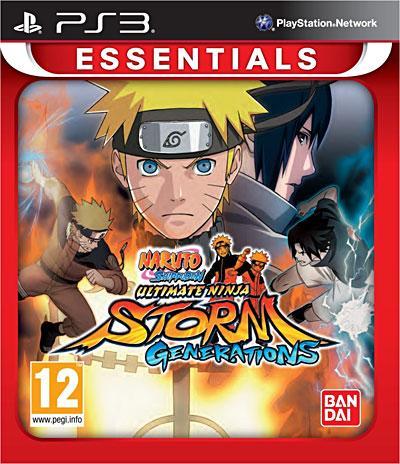 Naruto Shippuden Ultimate Ninja Storm Generations Gamme Essentiels PS3 - PlayStation 3