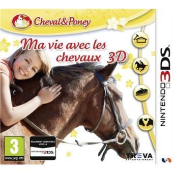 ma vie avec les chevaux 3ds sur nintendo 3ds jeux vid o achat prix fnac. Black Bedroom Furniture Sets. Home Design Ideas
