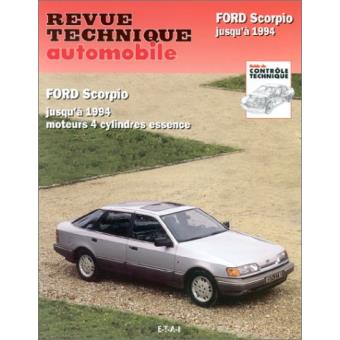 revue technique automobile 510 2 ford scorpio 85 94. Black Bedroom Furniture Sets. Home Design Ideas