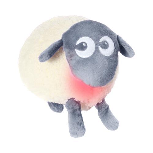 Peluche lumineuse Pabobo Ewan le mouton rêveur Gris pour 82€