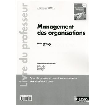 Management des organisations Term STMG