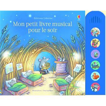 mon petit livre musical pour le soir cartonn fiona watt achat livre achat prix fnac. Black Bedroom Furniture Sets. Home Design Ideas