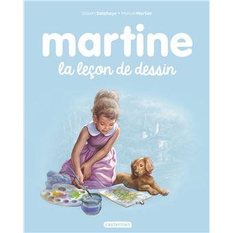 Martine martine la le on de dessin gilbert delahaye marcel marlier cartonn achat - Martine dessin ...