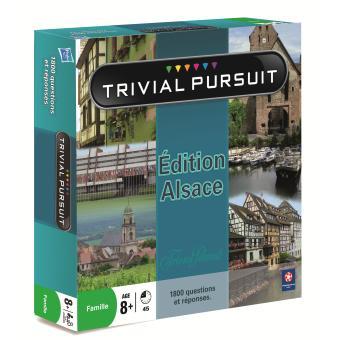 trivial pursuit alsace jeu de culture g n rale acheter sur. Black Bedroom Furniture Sets. Home Design Ideas