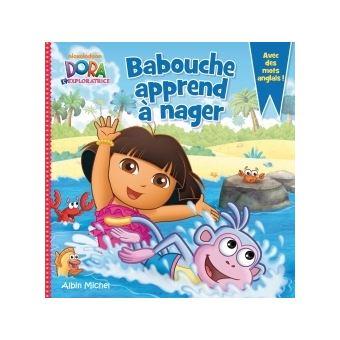 Dora l 39 exploratrice babouche apprend nager collectif - Dora a la plage ...