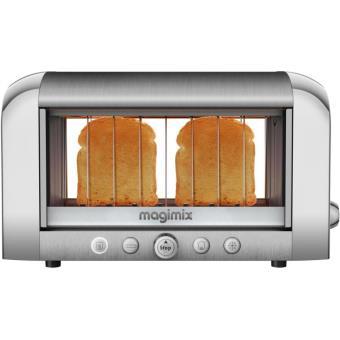 grille pain magimix 11538 vision 1450 w chrome achat prix fnac. Black Bedroom Furniture Sets. Home Design Ideas