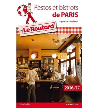 Image accompagnant le produit Guide du Routard Restos et bistrots de Paris
