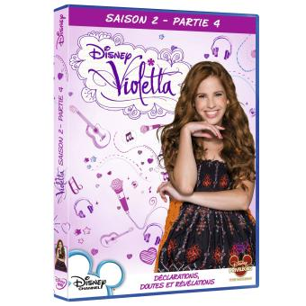 violetta coffret de la saison 2 partie 4 dvd coffret. Black Bedroom Furniture Sets. Home Design Ideas