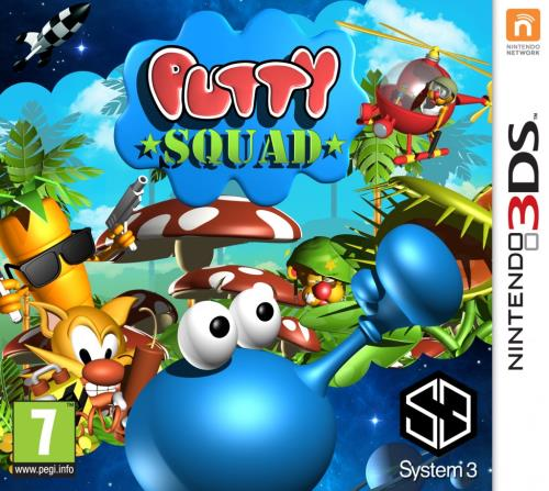 Putty Squad 3DS - Nintendo 3DS