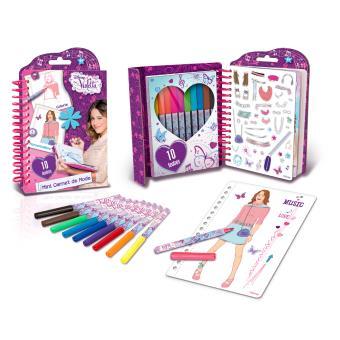 Mini carnet de mode violetta canal toys kit cr atif - Jeux gratuit de violetta ...