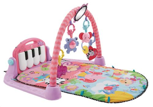 tapis piano rose fisher price jeu d 39 veil acheter sur. Black Bedroom Furniture Sets. Home Design Ideas