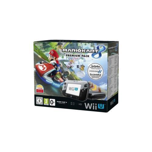 Console Nintendo Wii U Mario Kart 8 Pack Premium
