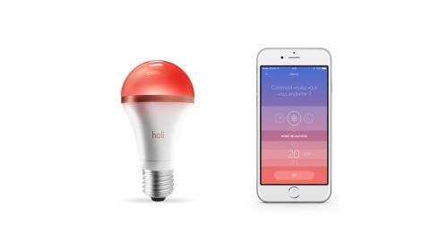 f48f1b5b89 ... SleepCompanion Fnac.com : Ampoule LED Connectée Holî + Application  SleepCompanion - Autre objet connecté. Remise permanente de 5% pour les  adhérents.