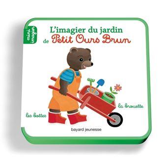 Petit Ours Brun - Mini imagier : L'imagier du jardin de Petit Ours Brun