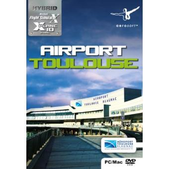flight simulator x a roport de toulouse sur jeux vid o achat prix fnac. Black Bedroom Furniture Sets. Home Design Ideas